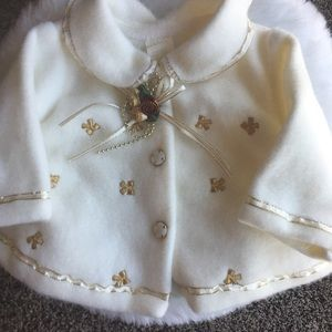 Other - Darling Infant Christmas Coat